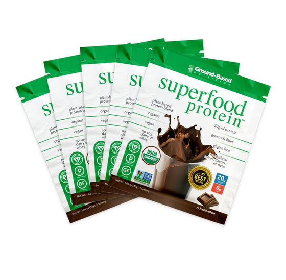 Superfood Protein – 5 Day Starter Kit (Chocolate) - Plant Based Protein