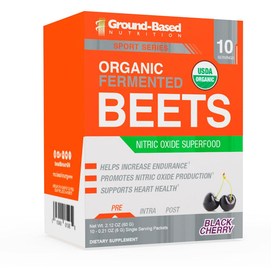 Organic Fermented Beets – 10 Pack Carton (Black Cherry)