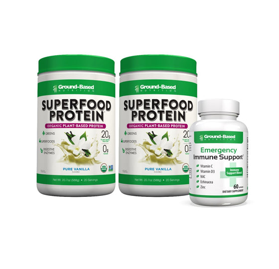Bundle - Superfood Protein + Free Emergency Immune Support
