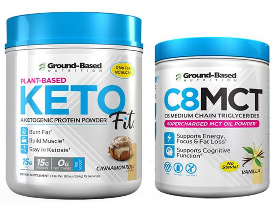 Keto Fit® Protein plus C8 MCT Bundle