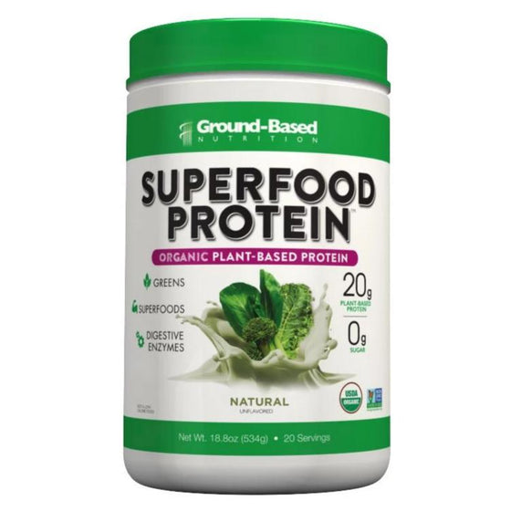 OUT OF STOCK - Superfood Protein – 20 Serving Jug (Unflavored)