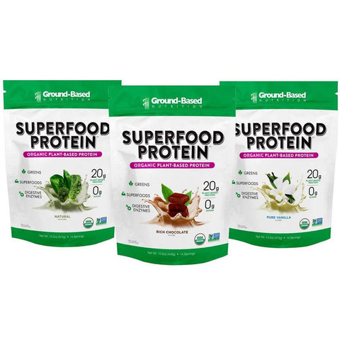Superfood Protein – 3 PACK BUNDLE - 14 Serving Bag (Variety Pack)