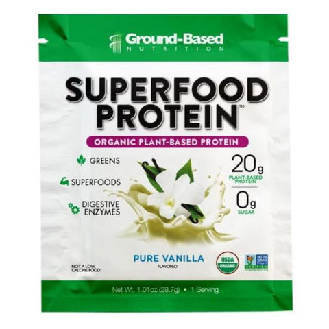 Superfood Protein – Single Serving Packet (Vanilla)
