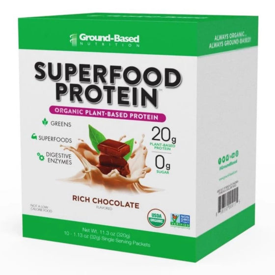 Superfood Protein – 10 Pack Carton (Chocolate)