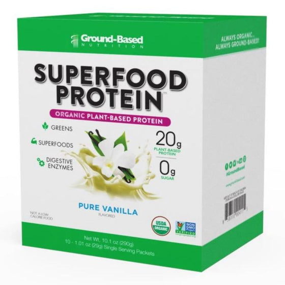 Superfood Protein – 10 Pack Carton (Vanilla)