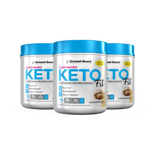 3-Pack Keto Fit®+ 2 Keto eBooks