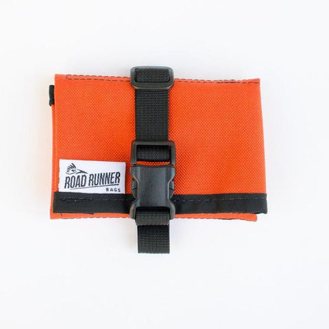 ROAD RUNNER - Tool/Saddle Roll - Orange Cordura