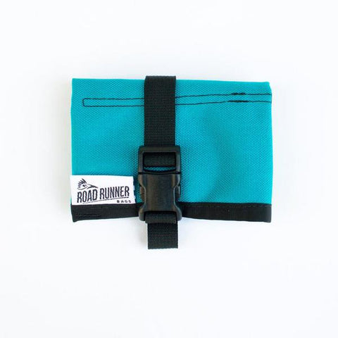 ROAD RUNNER - Tool/Saddle Roll - Teal Cordura