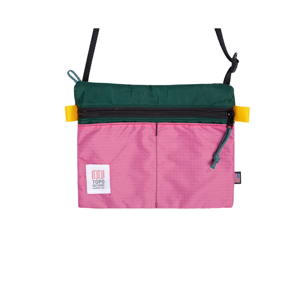 TOPO DESIGNS - Accessory Shoulder Bag - Forest/Berry