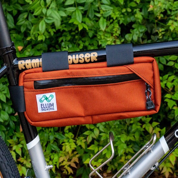ELLUM BAG WORKS - Carryout Frame Pack - Orange Cordura