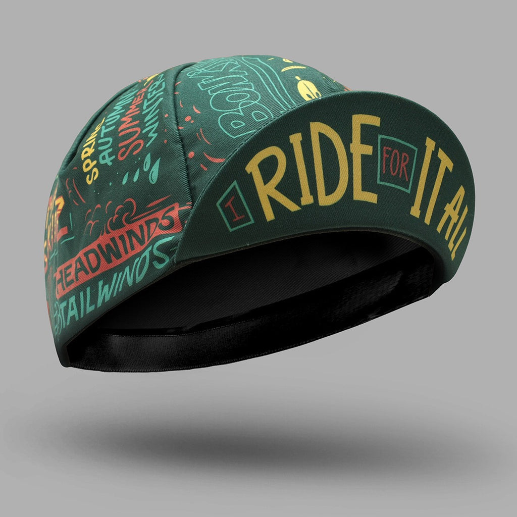 BELLO Cycling Cap - I Ride For It All