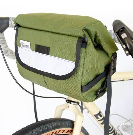 ROAD RUNNER - Jammer Bag - Olive Cordura