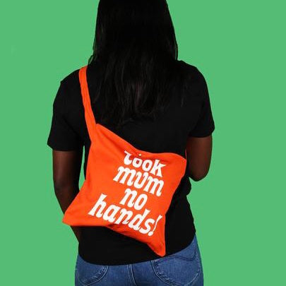 LOOK MUM NO HANDS - Musette - Orange