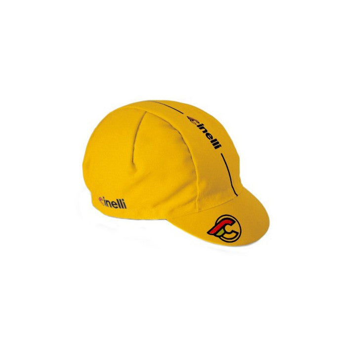 CINELLI - Supercorsa Cycling Cap - Yellow