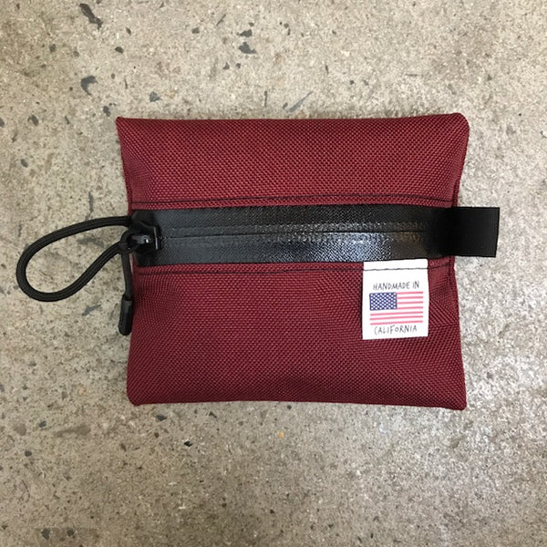 ROAD RUNNER - Goodie Bag Jersey Wallet - Burgundy