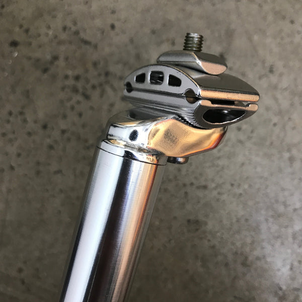 SEAT POST - 28.6mm - Silver