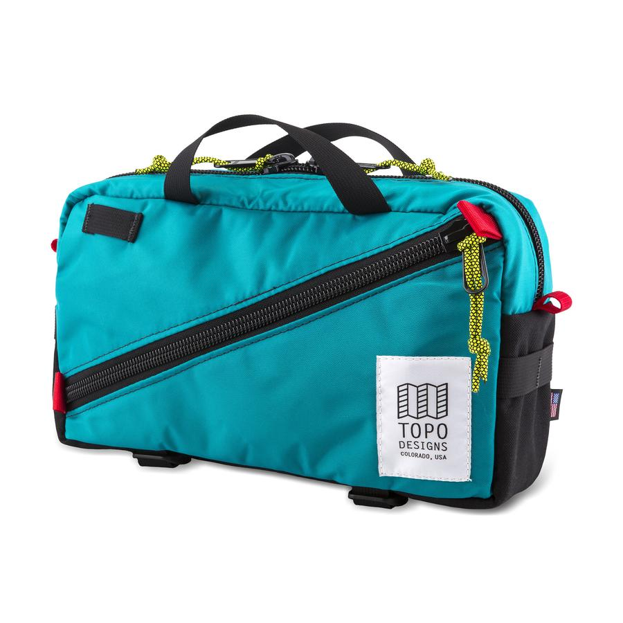 TOPO DESIGNS - Quick Pack - Turquoise/Black