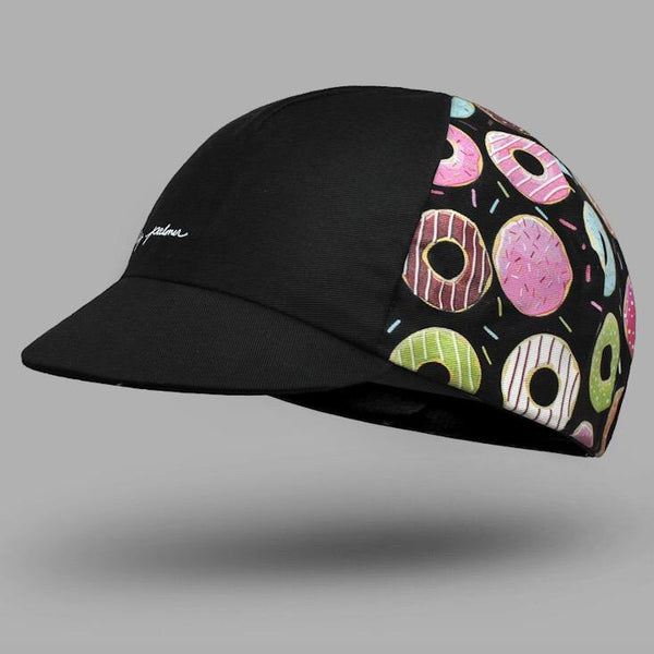 BELLO Cycling Cap - Donut Mess With My Ride-Time - Dark