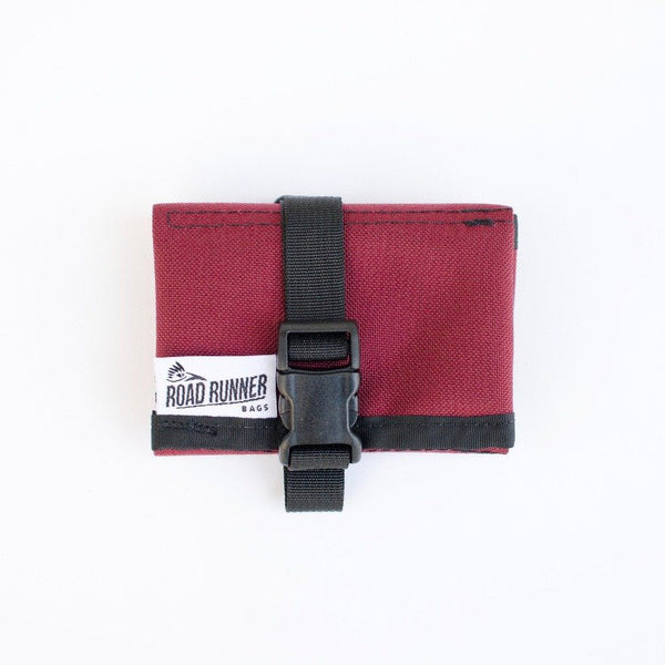 ROAD RUNNER - Tool/Saddle Roll - Burgundy Cordura