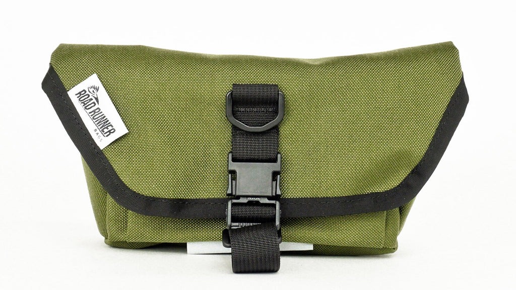 ROAD RUNNER - Waterproof Hip Bag Pro - Olive Cordura