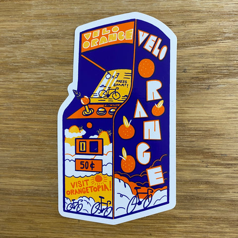 VELO ORANGE - Visit Orangetopia Sticker