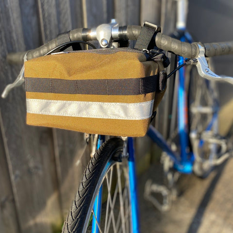 Ellum Bag Works Bar Crawler Bicycle Handlebar bag
