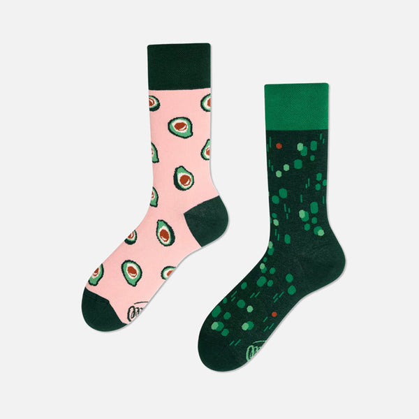 MANY MORNINGS Socks - Green Avocado