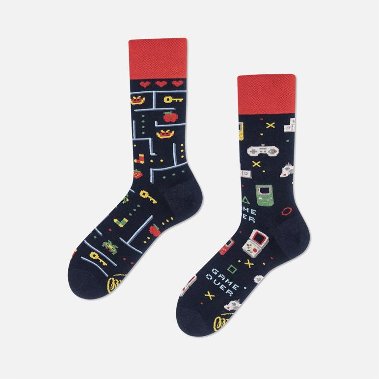 MANY MORNINGS Socks - Game Over