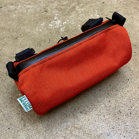 ELLUM BAG WORKS  Happy Hour Handlebar Bag Orange