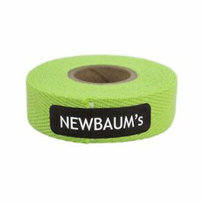 NEWBAUMS - Cloth Handlebar Tape - Lime Green
