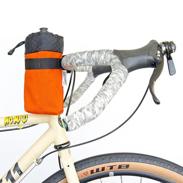 ROAD RUNNER - Co-Pilot Handlebar Bag - Orange Cordura