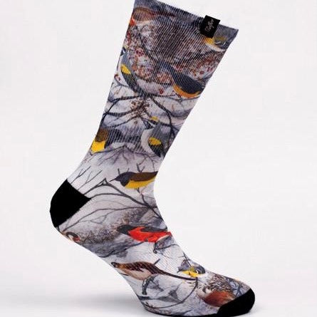 Pacific and Co Cycling Socks Birds of Paradise