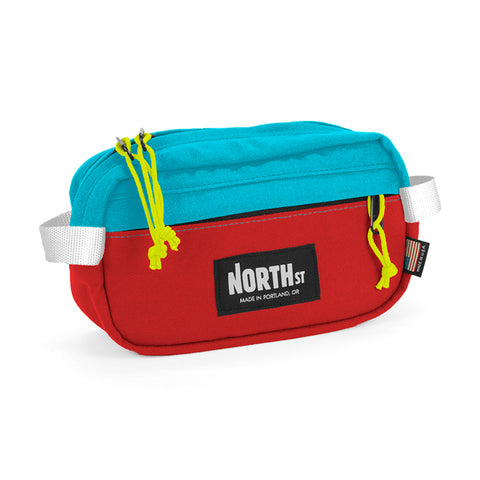 NORTH ST - Pioneer 9 Pack - Red & Teal