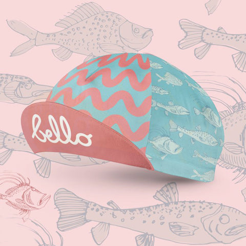BELLO Cycling Cap - Fishy Fish