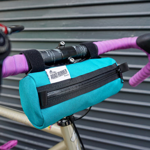 ROAD RUNNER - Burrito Handlebar Bag - Teal Cordura