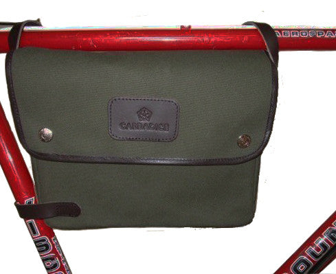 CARRADICE Chester Bicycle Frame Bag - Olive Green AUSTRALIA