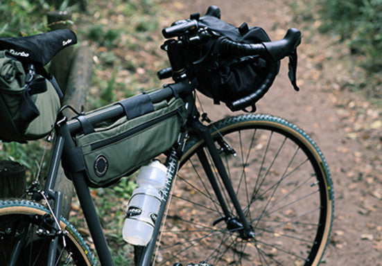 Fairweather Bicycle Frame Bag Waterproof And Durable