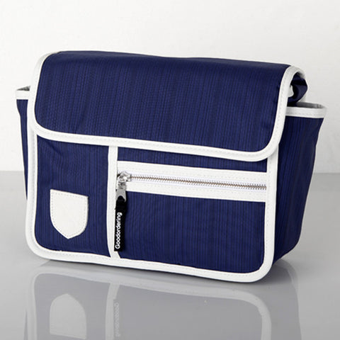 GOODORDERING Bicycle Handlebar Bag - Navy Blue AUSTRALIA