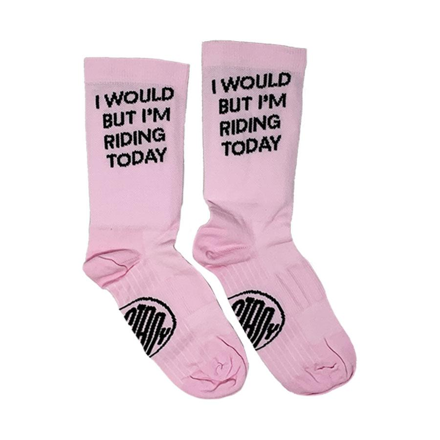Ostroy I Would But I'm Riding Cycling Socks