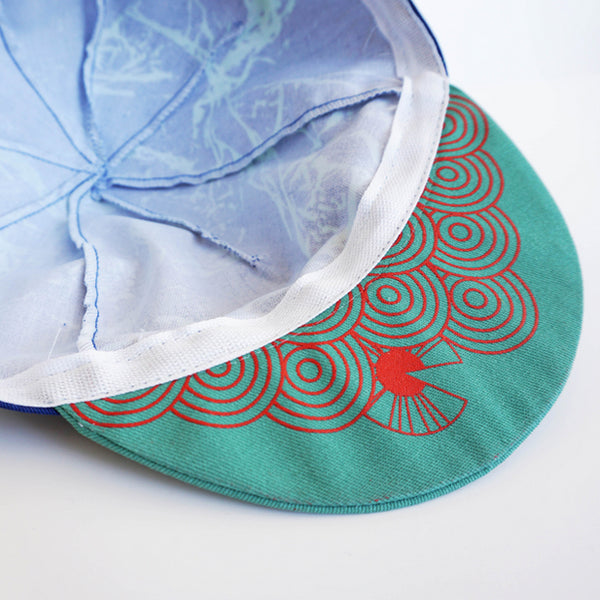 IRIS - Cycling Cap - When East Meets West