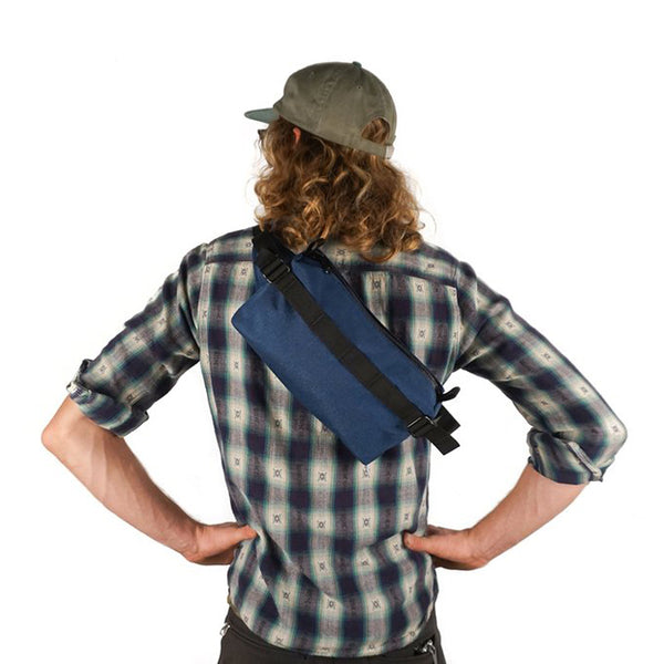 ROAD RUNNER - Lil Guy Mini Pack - Navy Cordura