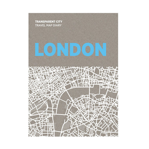 PALOMAR Transparent City Map - London