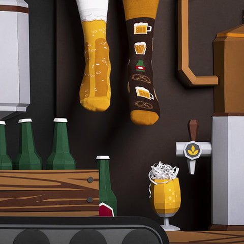 MANY MORNINGS Socks - Craft Beer