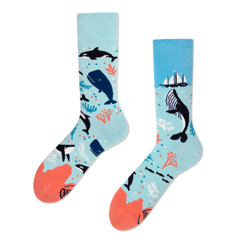 MANY MORNINGS Socks - Ocean Life