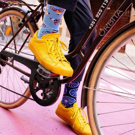 MANY MORNINGS Socks - The Bicycles