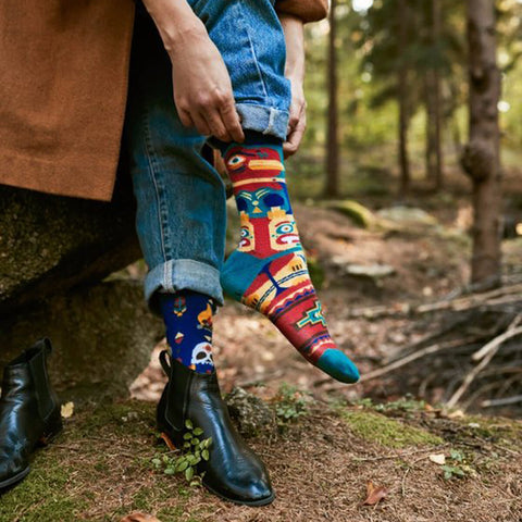 MANY MORNINGS Socks - Apache Tribe