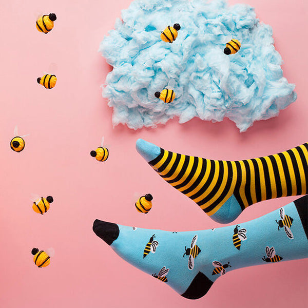 MANY MORNINGS Socks - Bee Bee AUSTRALIA