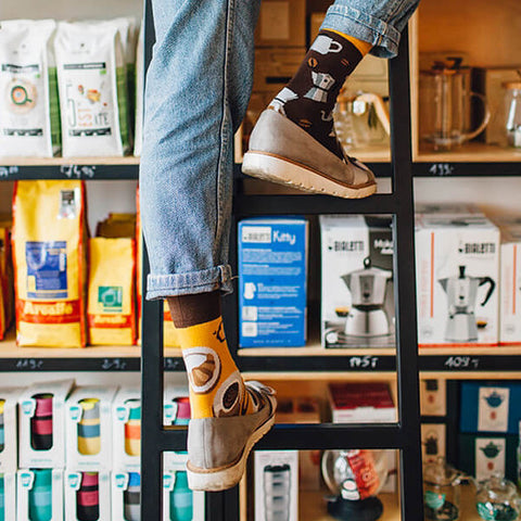 MANY MORNINGS Socks - Coffee Lover