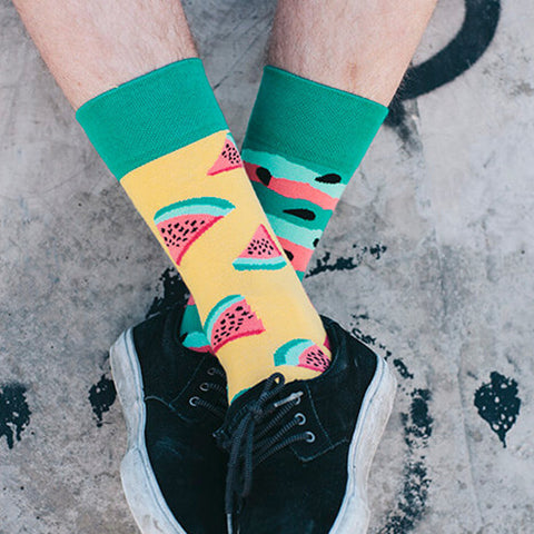MANY MORNINGS Socks - Watermelon Splash AUSTRALIA