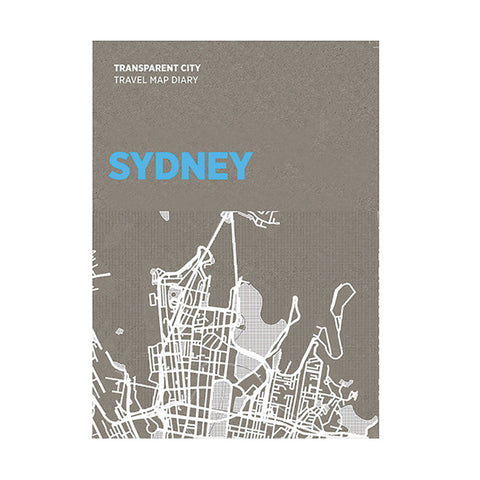 PALOMAR Transparent City Map - Sydney